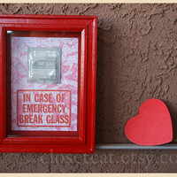 Valentine Gift for Him - Emergency Case - Gift for Couples, Gift for Men, Valentine Men, Boyfriend Gift, Rusteam, Ink Drawing, condom