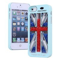 Cool The Union Jack Sliding Hard Cover Case For Iphone 5