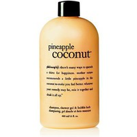 pineapple coconut shower gel | shampoo, shower gel