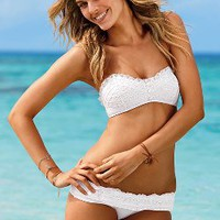 Eyelet Bandeau Top - Beach Sexy - Victoria's Secret