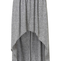 Grey Marl Dip Maxi Skirt - Back In Stock - New In - Topshop