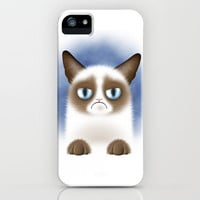 Nope (Grumpy Cat) iPhone Case by Liz Molnar | Society6