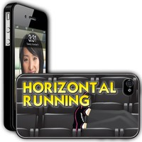 Amazon.com: iPhone 4/4s Case - Pitch Perfect Theme - Horizontal Running - Black Protective Hard Case: Cell Phones &amp; Accessories