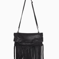 Mischa Fringe Bag in  Accessories at Nasty Gal