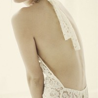 Zinke - All Things Nice Lace Jumper - Sugar