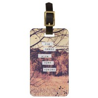 Wide Open Spaces II Luggage Tag from Zazzle.com