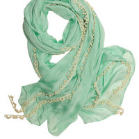 Mint to Be Scarf | Mod Retro Vintage Scarves | ModCloth.com