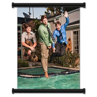 Workaholics TV Show Season 1 Fabric Wall Scroll Poster (16