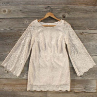 Spun Snow Lace Dress, Sweet Women&#x27;s Country Clothing