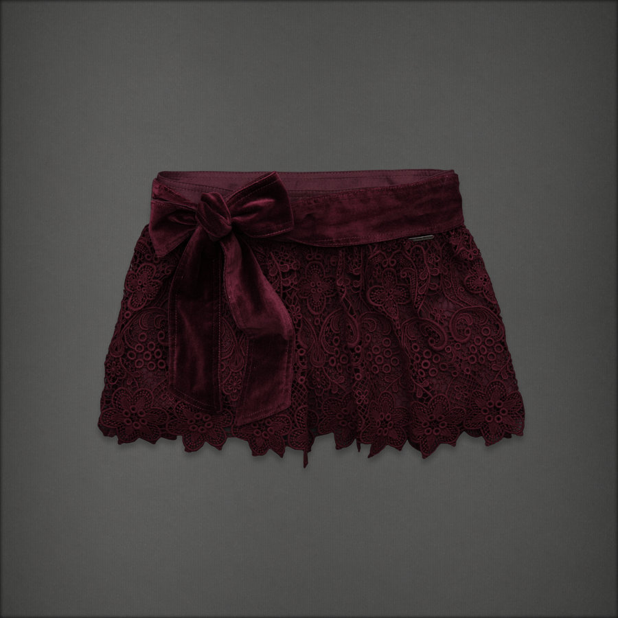 Abercrombie & Fitch - Floral Lace Skirt