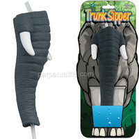 ELEPHANT TRUNK SIPPER STRAW
