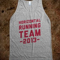 Horizontal Running Team (tank)