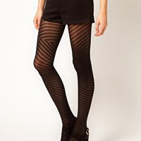 Falke Diagonal Tights at asos.com
