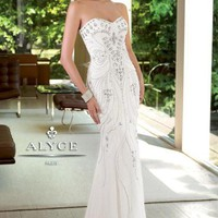 Alyce 6057 at Prom Dress Shop