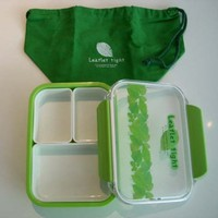 500ml Lunch box bento box with a bag / G - Made in Japan