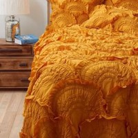 Rivulets Quilt, Gold - Anthropologie.com