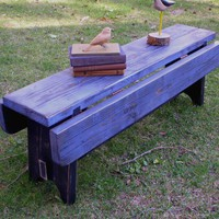 Wooden Coffee Table Handmade Rustic Shabby by honeystreasures