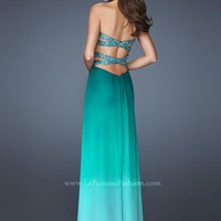 La Femme Dress 18525 at Peaches Boutique