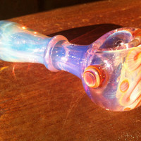 Beautiful color changing glass pipe