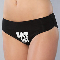 The Eat Me Panty in Black : Creep Street : Karmaloop.com - Global Concrete Culture