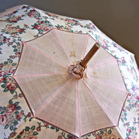 Vintage Antique Parasol Umbrella by AloofNewfMillinery on Etsy