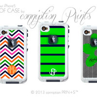 Sticker Prints Monogram your Lifeproof Case by conniptionPRINTS