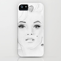 Marilyn Monroe iPhone Case by Paint The Moment | Society6