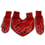 Funny Dual Valentine Gloves for HIM and HER with by warmpresents