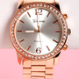 Time to Shine Rose Gold Watch