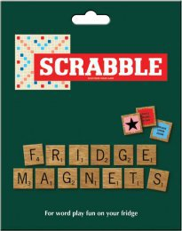 Scrabble Magnetic Fridge Tiles