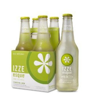 Izze, Sparkling Limon Esque, 6/4/12 Oz: Amazon.com: Grocery & Gourmet Food