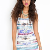 Azteca Dress in What's New at Nasty Gal