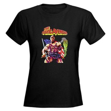 Toxic Avenger Retro Women's Dark T-Shirt by CafePress