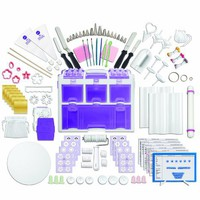 Wilton 2109-0309 Ultimate Professional Cake Decorating Set, Purple
