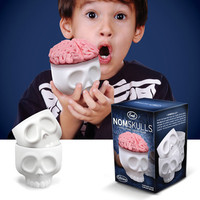 Nomskulls Cupcake Mold 4 Pack 
