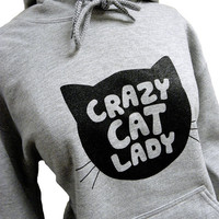 Crazy Cat Lady Hoodie 