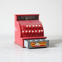 vintage Tom Thumb play cash register by AMradio on Etsy