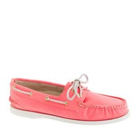 Sperry Top-Sider® for J.Crew Authentic Original 2-eye boat shoes in pastel - flats - Women's shoes - J.Crew