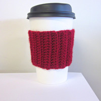 Crochet Cup Cozy The Pick Me Up Coffee Cup Sleeve