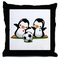 Amazon.com: Cute Penguin Throw Pillow by CafePress: Home & Kitchen