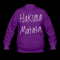 Hakuna Matata. Hoodie | Spreadshirt | ID: 9576386