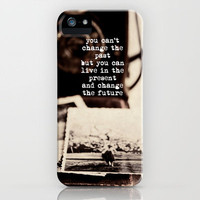 living in the present iPhone Case by ingz | Society6