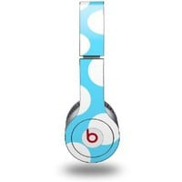 Amazon.com: Kearas Polka Dots White And Blue Skin (fits Beats Solo HD Headphones): Everything Else