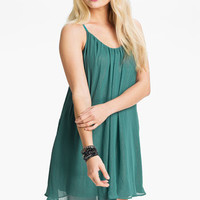 Dee Elle Chiffon Trapeze Dress (Juniors) | Nordstrom