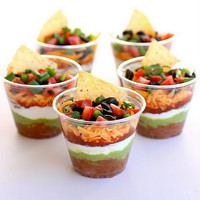 Recipes / Individual Seven Layer Dips