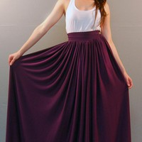 The Goddess Maxi Skirt