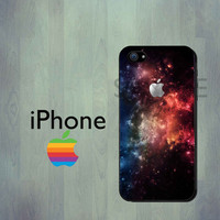 SPACE GALAXY iPhone Case - iPhone 4 Case or iPhone 5 Case - iPhone Hard Cover Case