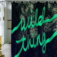 DENY Designs Home Accessories | Leah Flores Wild Thing 1 Shower Curtain