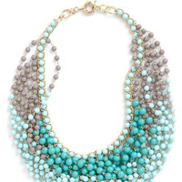 Statement of the Art Necklace in Sky | Mod Retro Vintage Necklaces | ModCloth.com