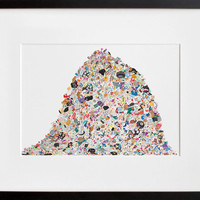 20x200 | Trash Mountain, by Megan Whitmarsh